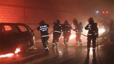 车辆隧道内自燃 消防及时救援